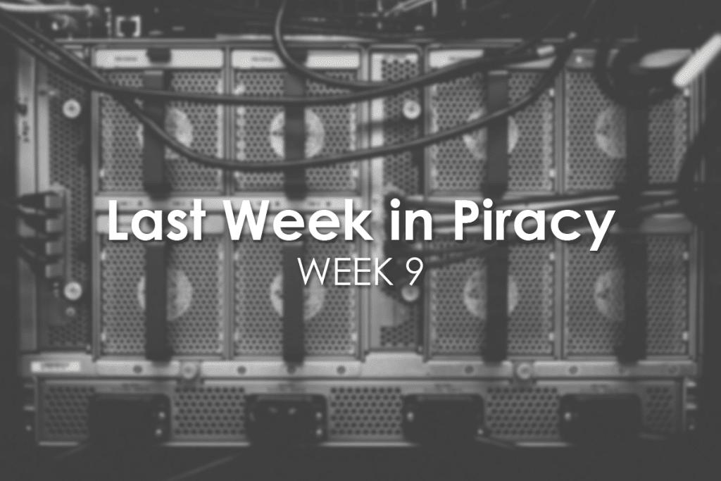 Last Week in Piracy Week 9