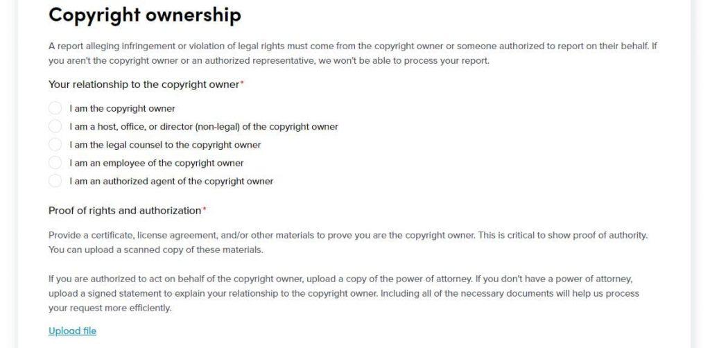 TikTok Copyright Infringing Content Copyright Owner
